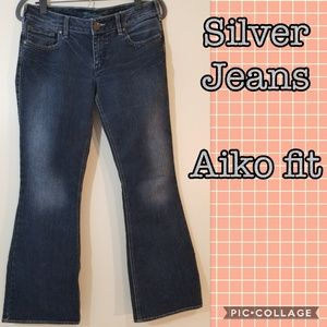 Aiko Silver Jeans
